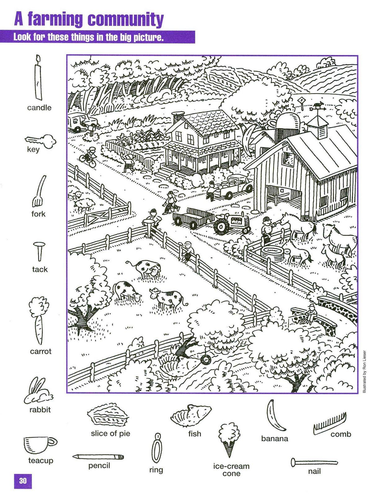 Épinglé Par Paula Bruns Norton Sur Hidden Pictures | Images destiné Jeux Éducatifs Collège À Imprimer