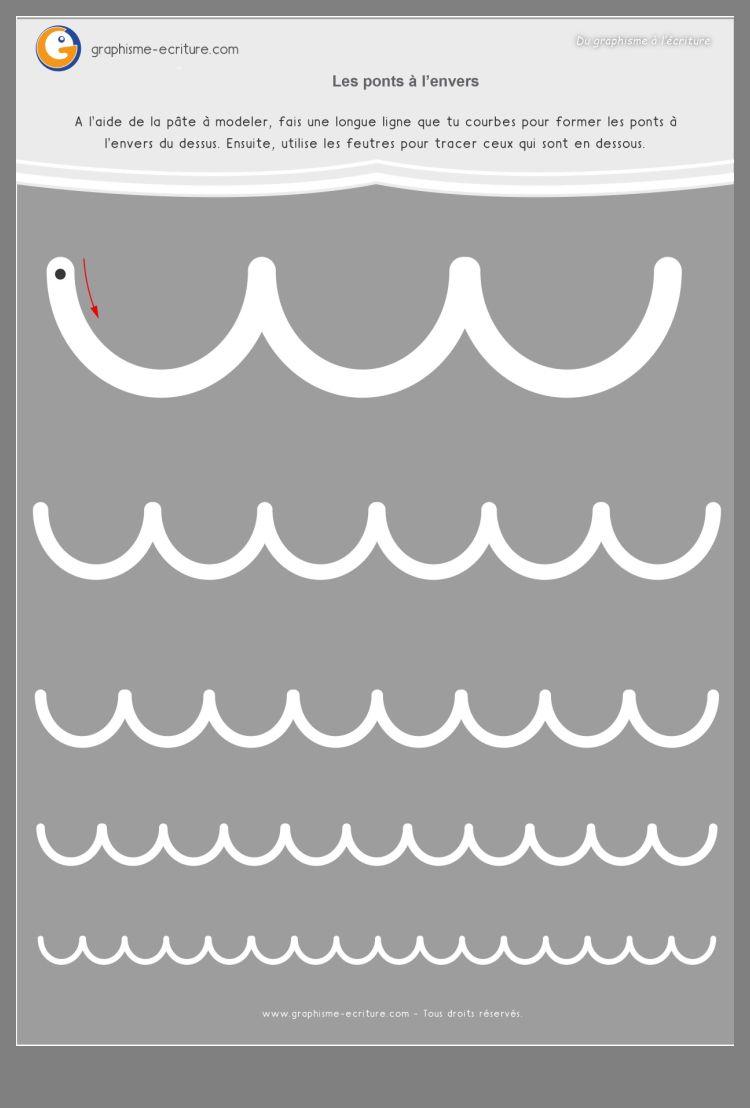 Épinglé Par Riya Sur Cp2 | Graphisme Moyenne Section encequiconcerne Graphisme Moyenne Section Les Ponts