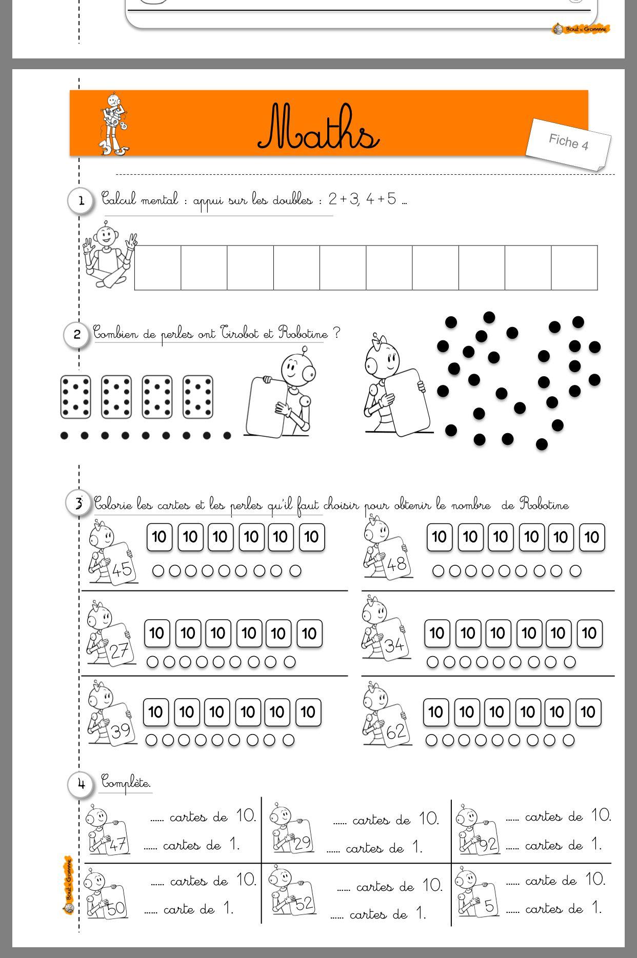 Épinglé Sur Cp Maths dedans Jeux De Exercice De Maths