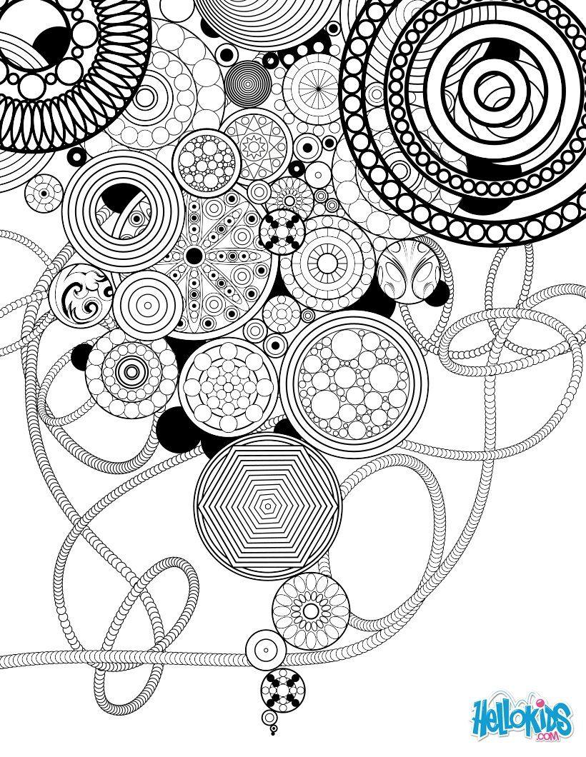 Épinglé Sur Graphisme Et Dessins encequiconcerne Coloriage Graphique