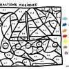 Épinglé Sur Math intérieur Coloriage Magique Cp Calcul