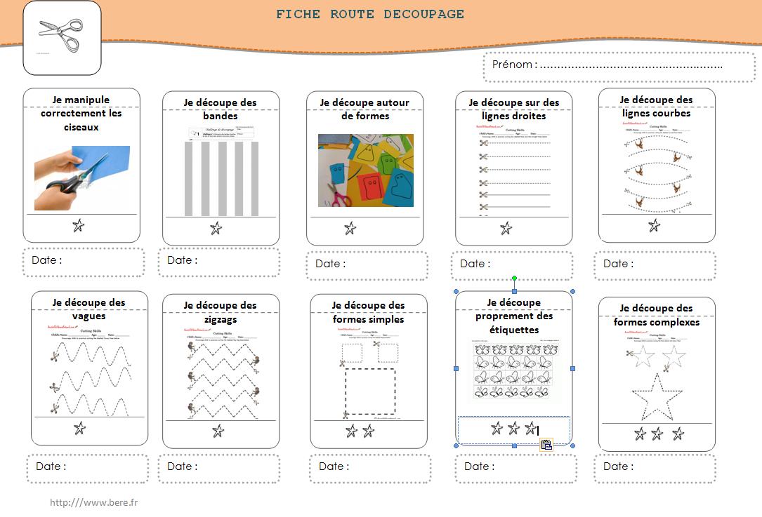 Épinglé Sur Print - Diy Learning Materials/phot Cards tout Atelier Découpage Maternelle