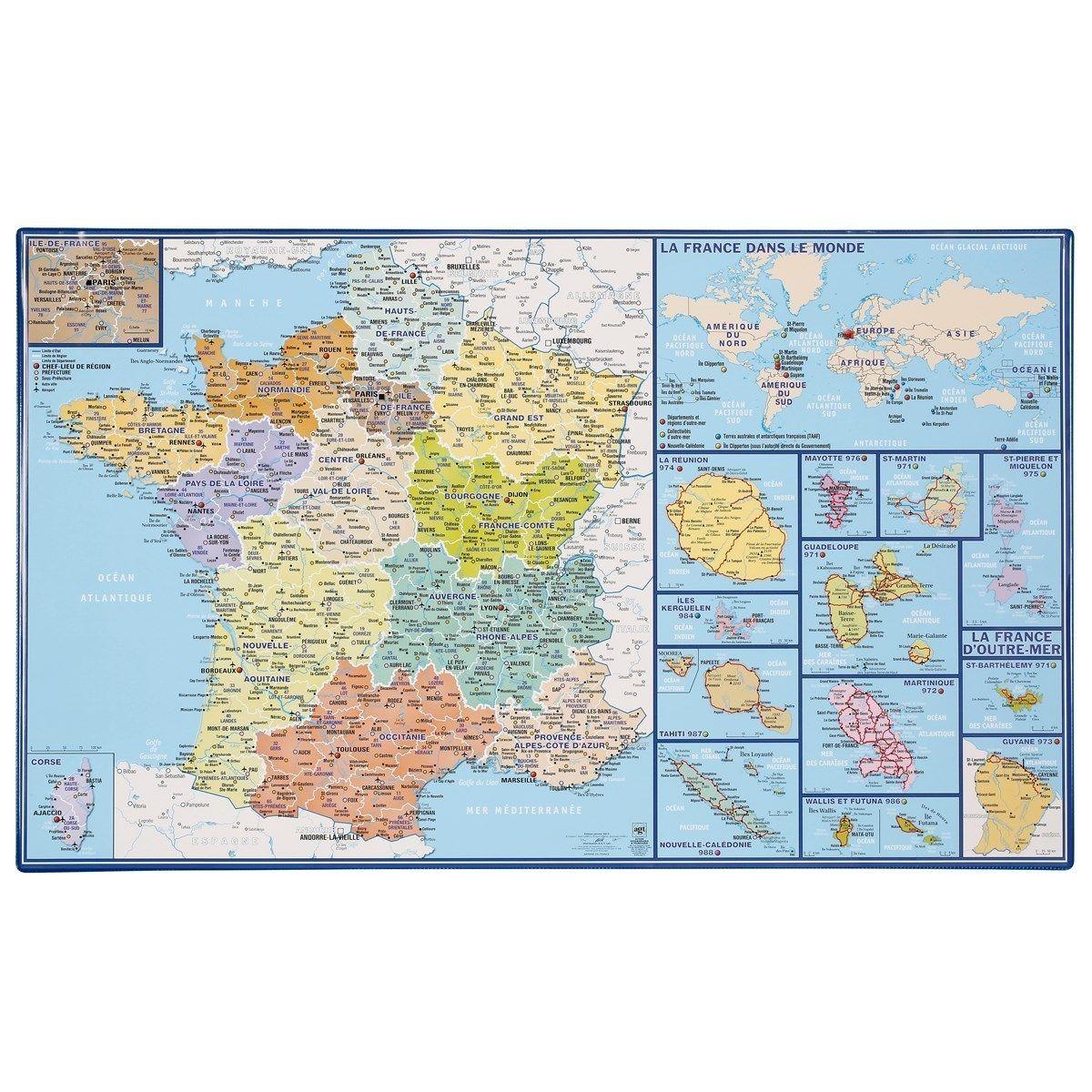 Épinglé Sur Products concernant Carte De France Dom Tom