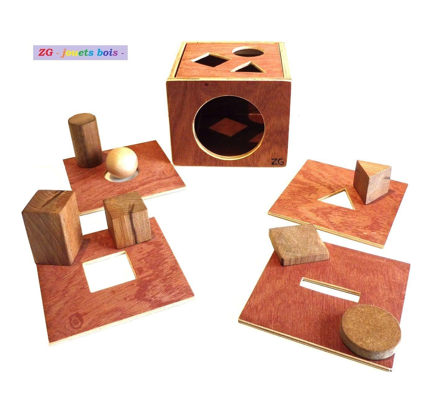Épinglé Sur Zgjouetsbois pour Boite À Forme Montessori