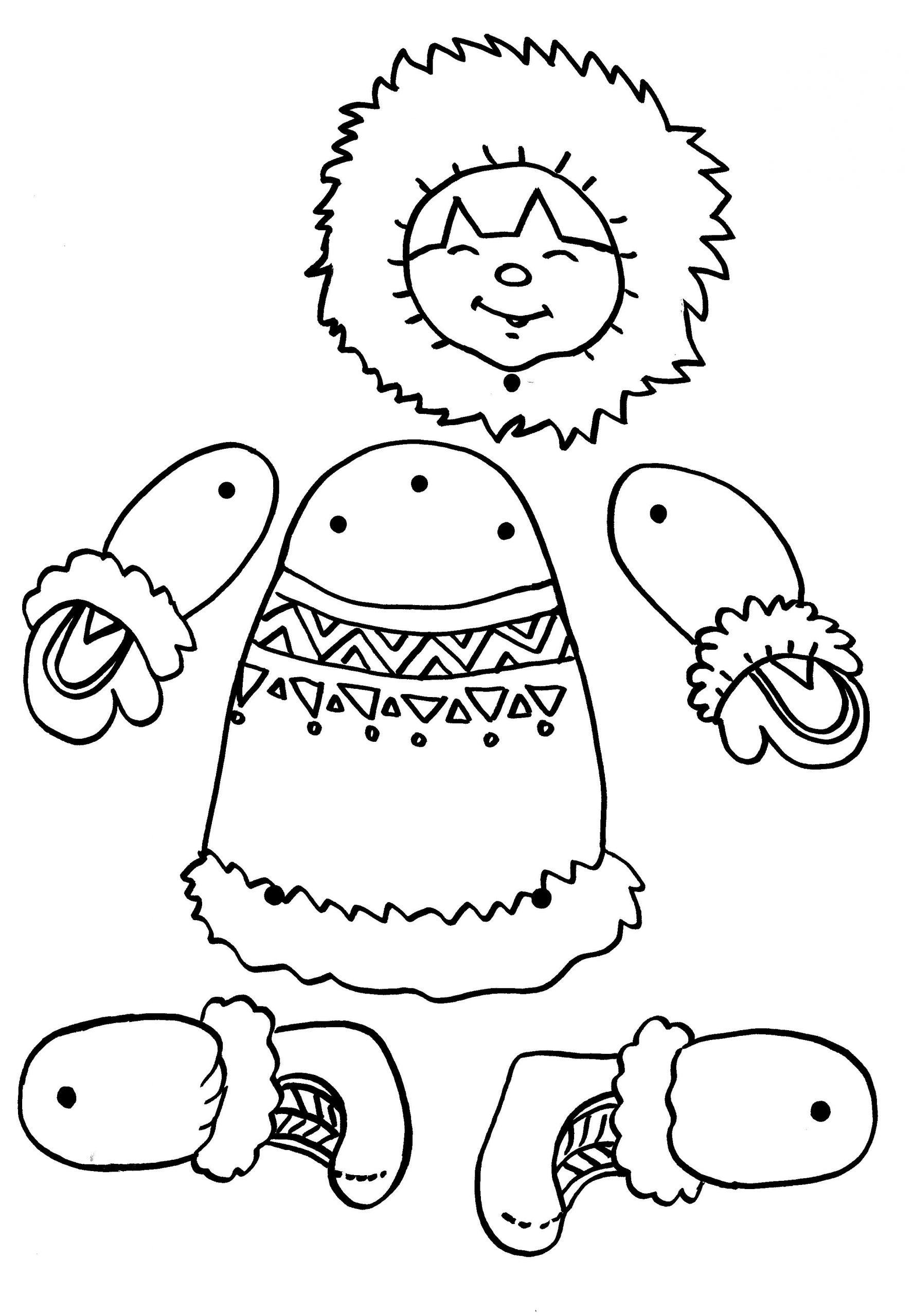 Esquimal | Esquimales | Activité Manuelle Hiver, Pantin Et destiné Activité Maternelle Hiver
