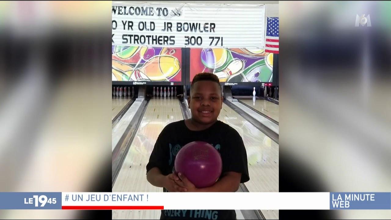 États-Unis : À 10 Ans, Il Réalise L'exploit De Faire 12 Strikes Consécutifs  Au Bowling pour Jeu Bowling Enfant