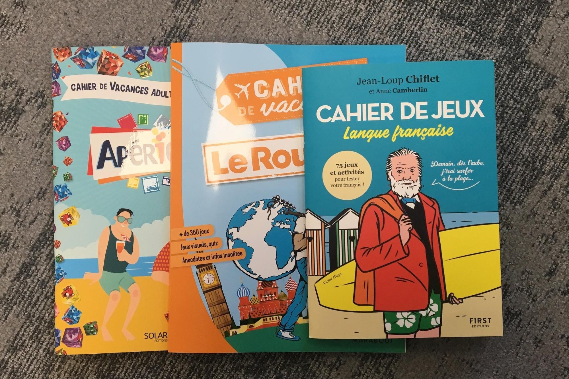 Été 2019 : 3 Cahiers De Vacances Pour Adultes À Mettre Dans destiné Cahier De Vacances Adultes Gratuit