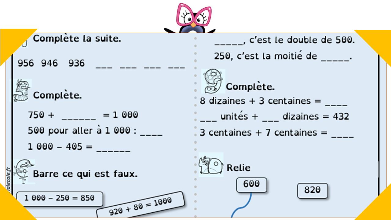 Étoiles De Numération (Ce1 Ce2) Avec Version Belge concernant Travaille Ce2 A Imprimer