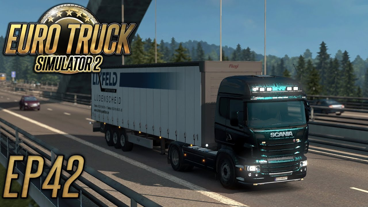 Euro Truck Simulator 2: Let's Ramble Pc Vs Ps4 Vs Xbox - Episode 42 encequiconcerne Jeux De Tir 2