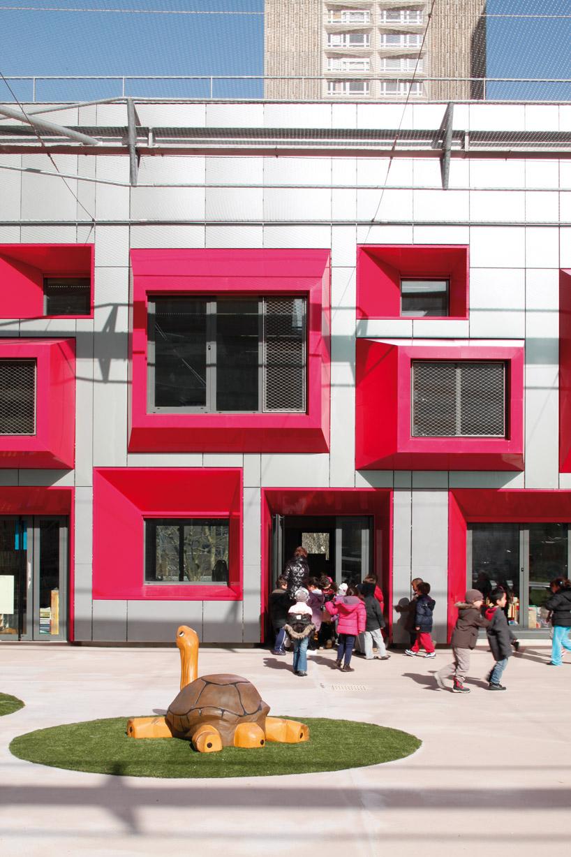 Eva Samuel Architecte Et Associes: Ecole Maternelle Javelot tout Addition Maternelle