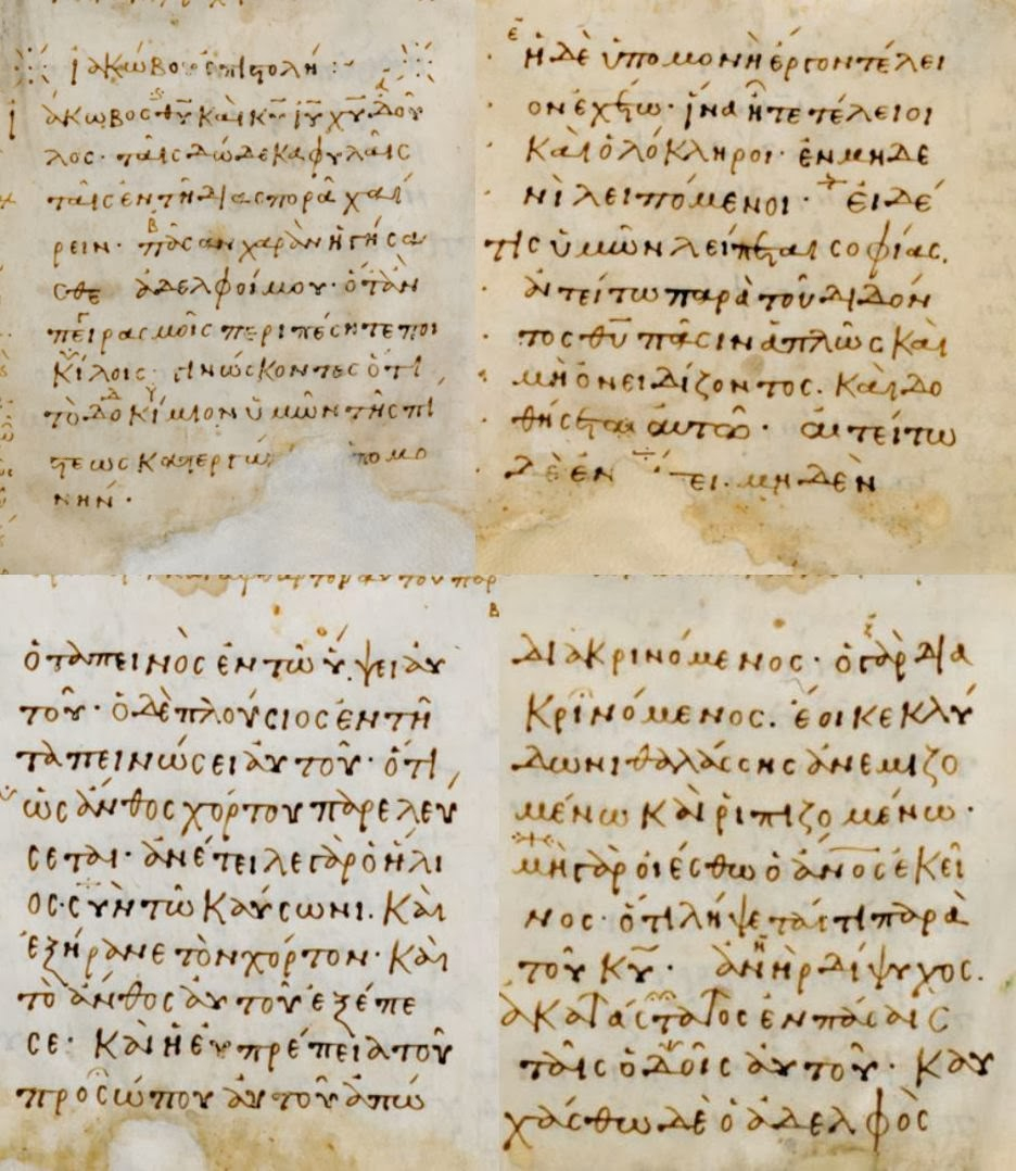 Evangelical Textual Criticism: When Is A Manuscript A Minuscule? serapportantà Majuscule Script