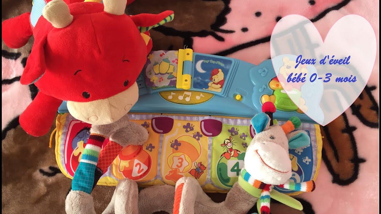 [Eveil #1]Jeux D'éveil Pour Bébé 0-3 Mois encequiconcerne Jeux D Eveil Bébé 2 Mois