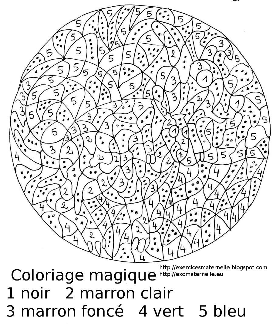 Exercice Coloriage Magique | Liberate avec Jeux De Coloriage Magique Cm1
