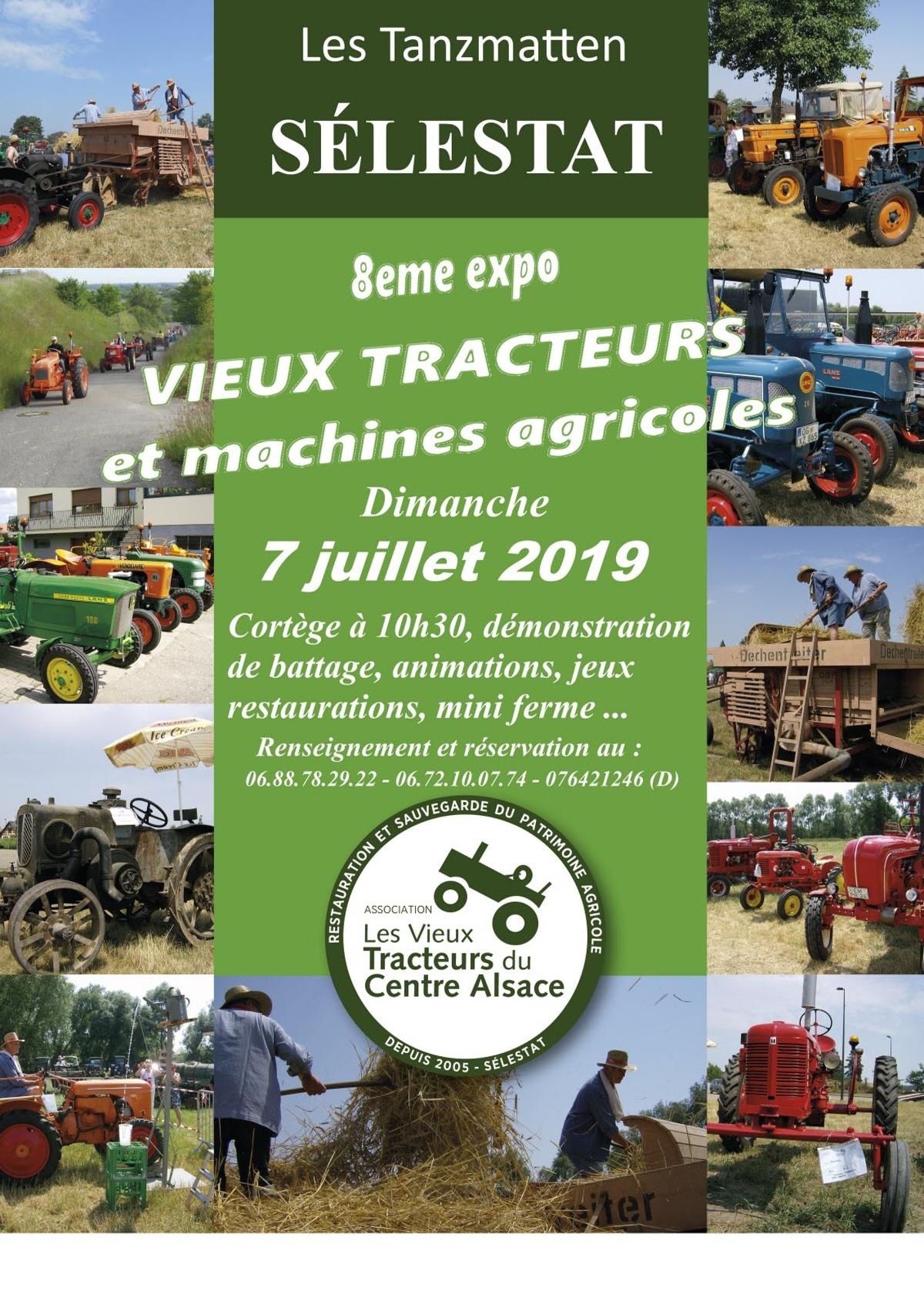 Exposition De Tracteurs Et Machines Agricole : Exposition A tout Jeux Gratuit Tracteur A La Ferme