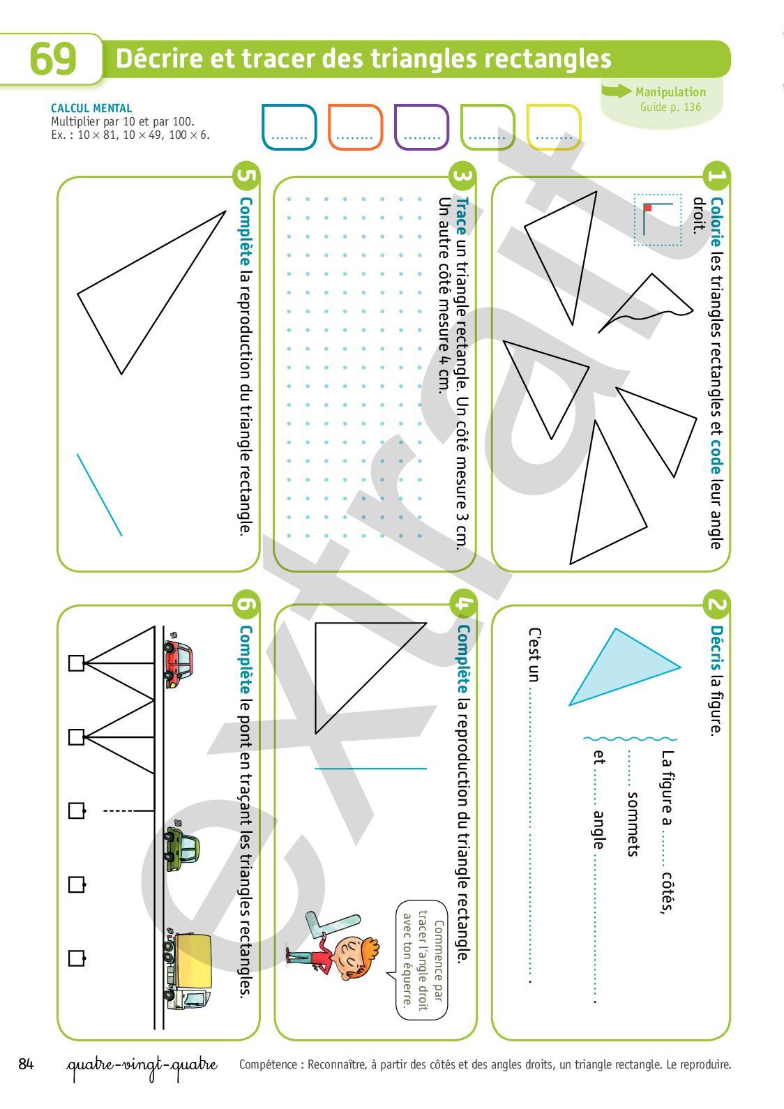 Extrait Archimaths Ce1 - Calameo Downloader pour Reproduction De Figures Ce1