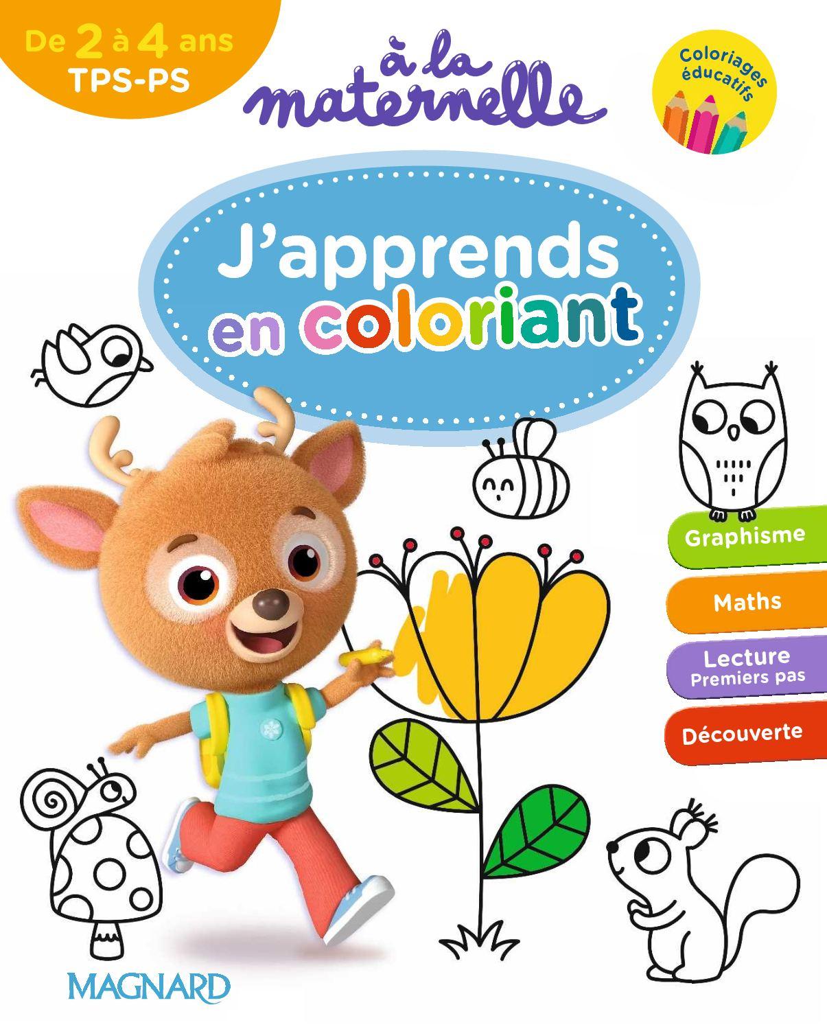 Extrait Coloriages Tps-Ps - Calameo Downloader concernant Coloriage Maternelle Ps