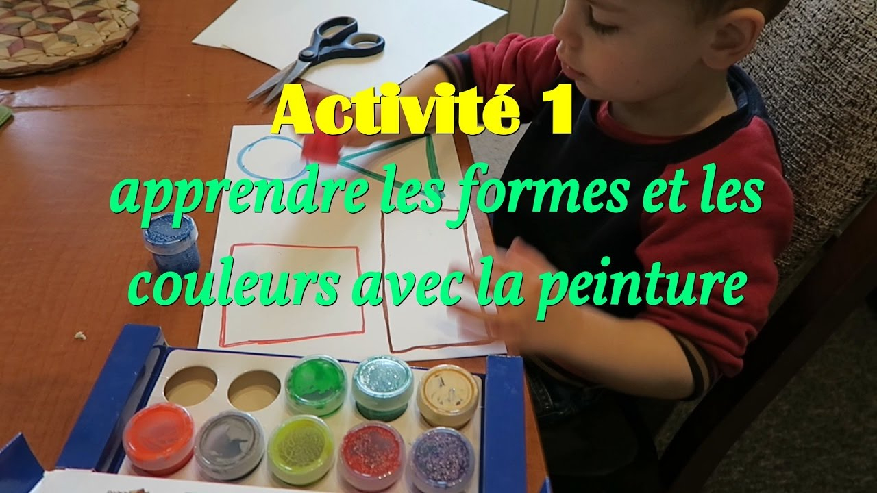 🖌activité Enfant 2 Ans Et Demi,🔴🔺 On Apprend Les Formes intérieur Bebe A 2 Ans Et Demi