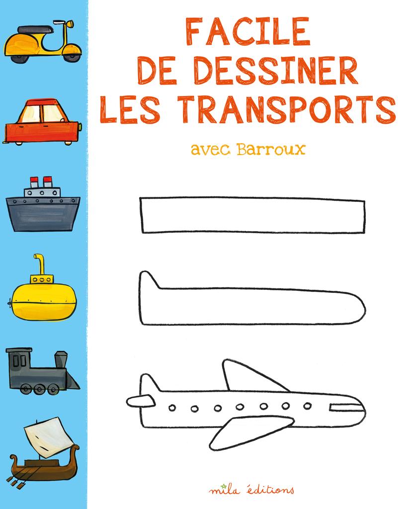 Facile De Dessiner Les Transports Avec Barroux - Les Cahiers serapportantà Voiture Facile À Dessiner