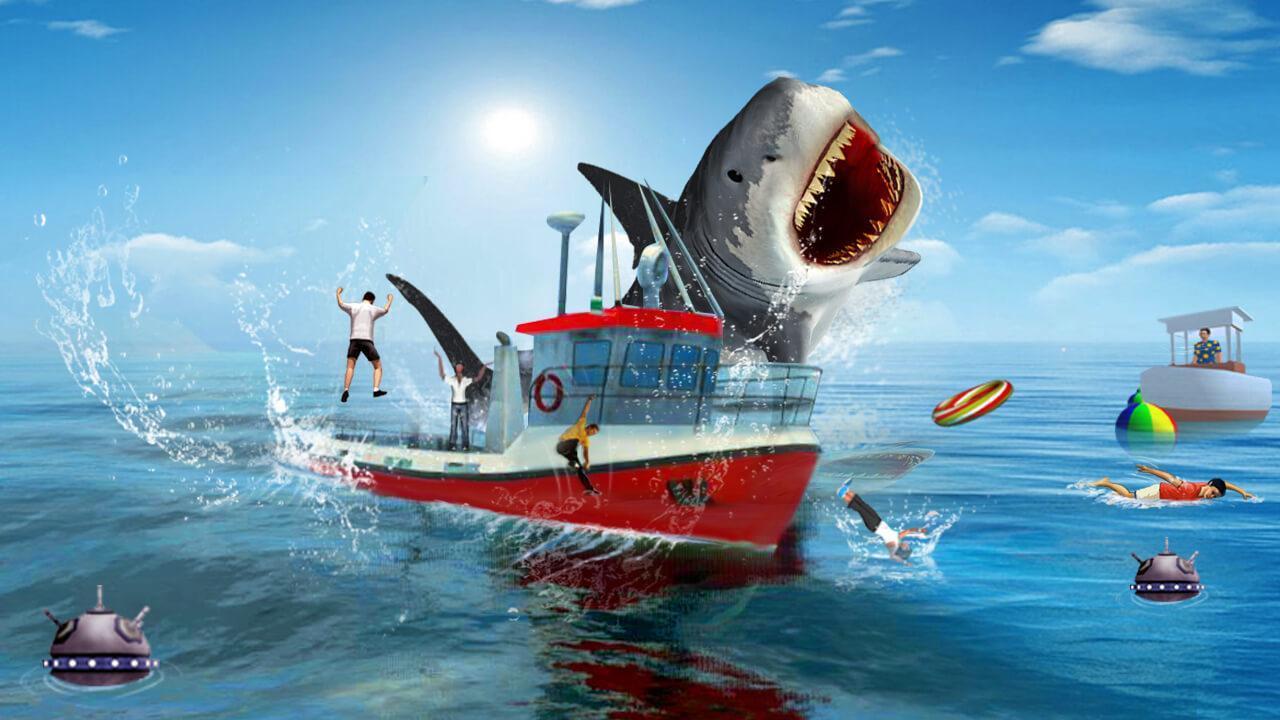 Faim Jeu De Requin Pour Android - Téléchargez L'apk destiné Requin Jeux Gratuit