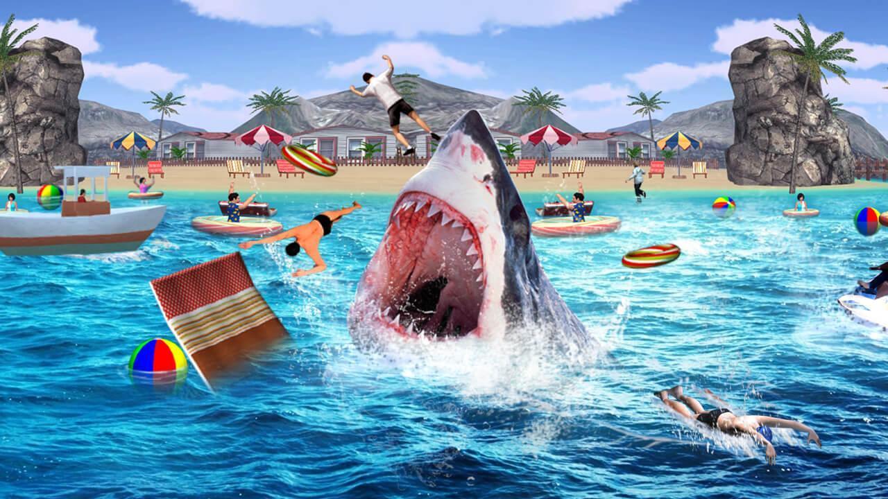Faim Jeu De Requin Pour Android - Téléchargez L'apk encequiconcerne Tous Les Jeux De Requin