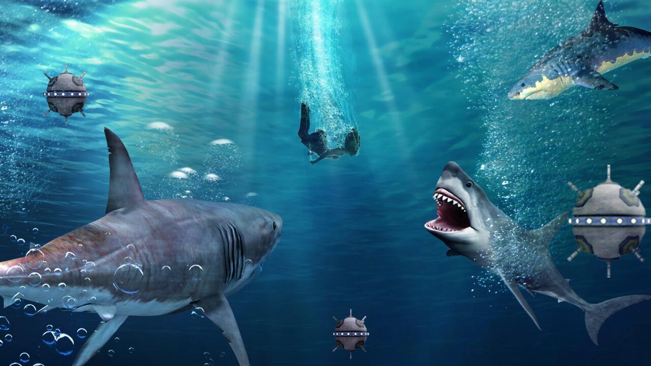Faim Jeu De Requin Pour Android - Téléchargez L'apk serapportantà Tous Les Jeux De Requin