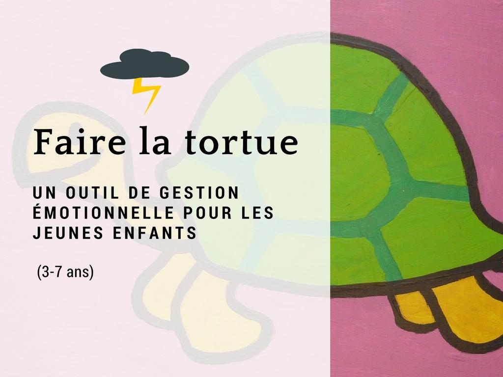 Faire La Tortue : Un Outil De Gestion Émotionnelle Pour Les avec Jeux De Tortue Gratuit