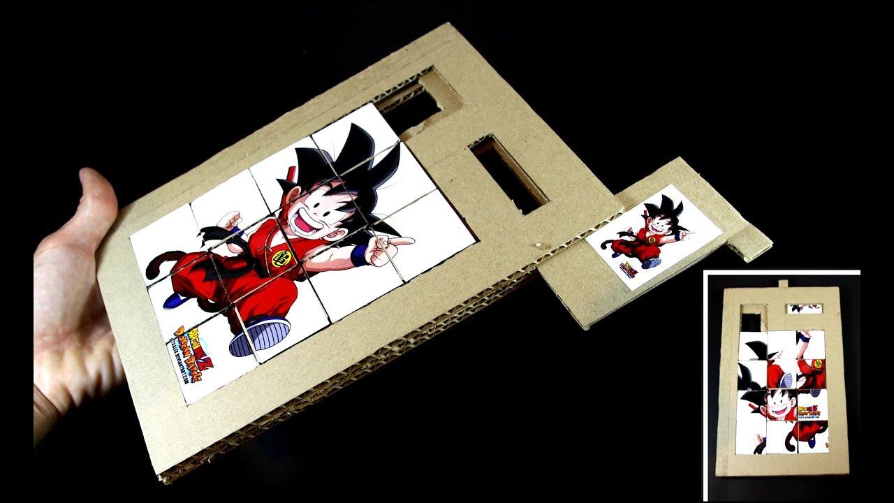 Faire Un Jeu De Puzzle De Diapositives À Partir Du Carton intérieur Puzzle À Partir De Photo