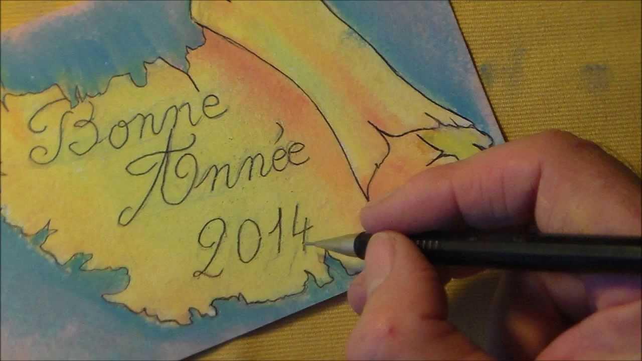 Faire Une Carte De Vœux Bonne Année 2020 Soi Même Gratuite À Imprimer encequiconcerne Carte De Bonne Année Gratuite A Imprimer