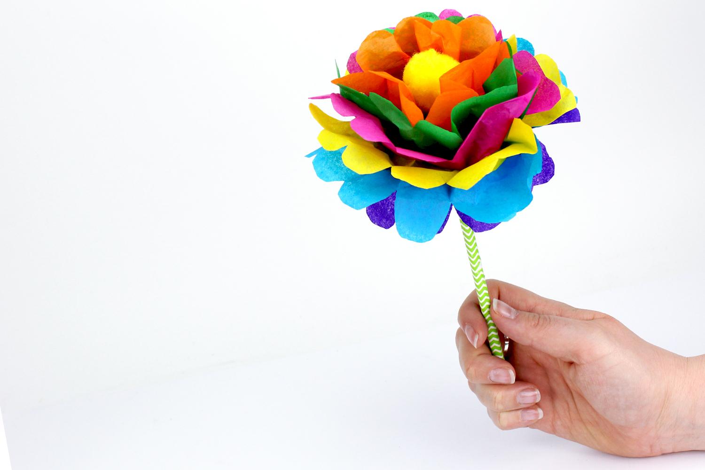 Faire Une Fleur En Papier : Méthode Facile - Activités dedans Activité Simple A Faire