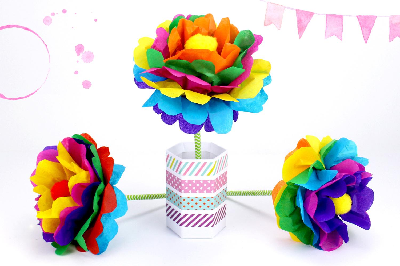 Faire Une Fleur En Papier : Méthode Facile - Activités destiné Activité Manuelle Facile Faire
