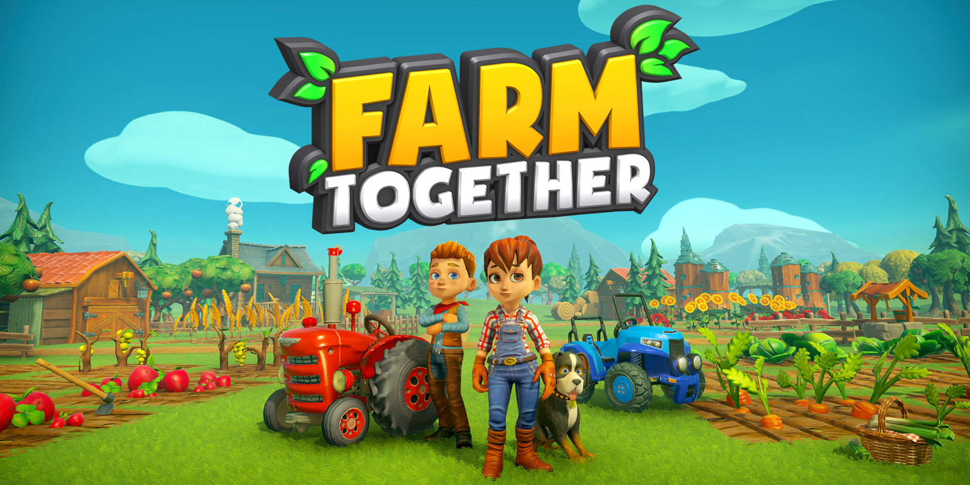 Farm Together | Jeux À Télécharger Sur Nintendo Switch serapportantà Jeux Gratuit Tracteur A La Ferme