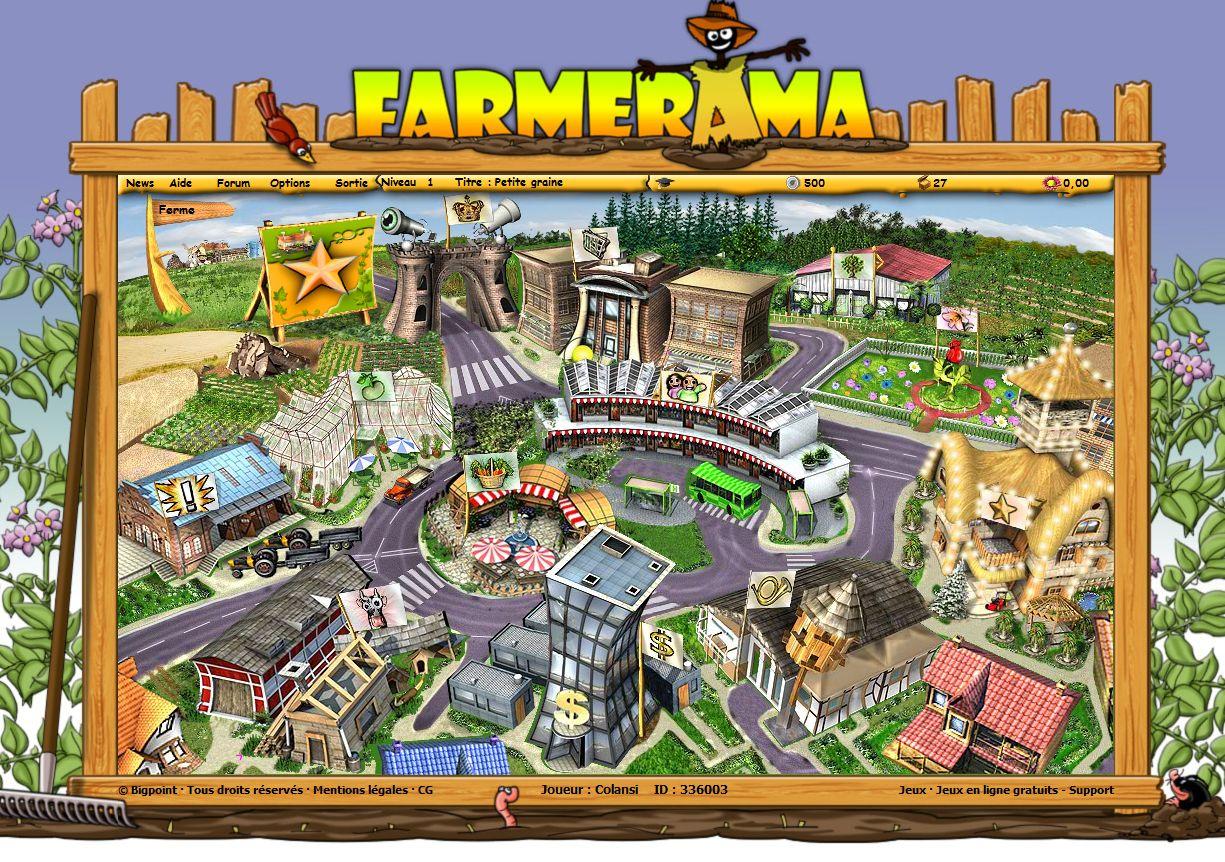 Farmerama dedans Jeux En Ligne De Ferme