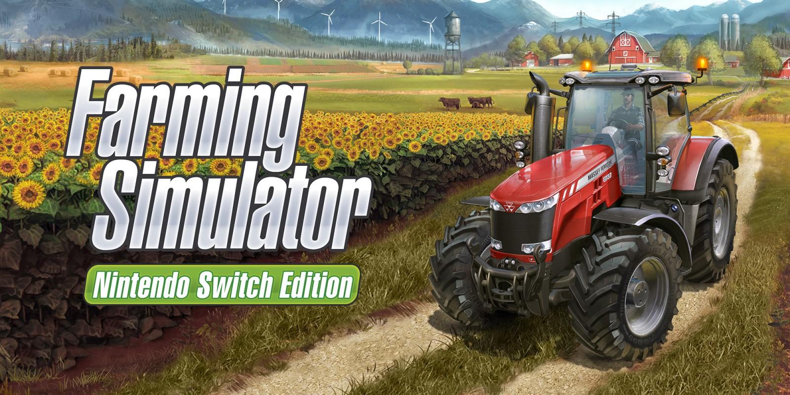 Farming Simulator Nintendo Switch Edition | Nintendo Switch concernant Jeux Gratuit Tracteur A La Ferme