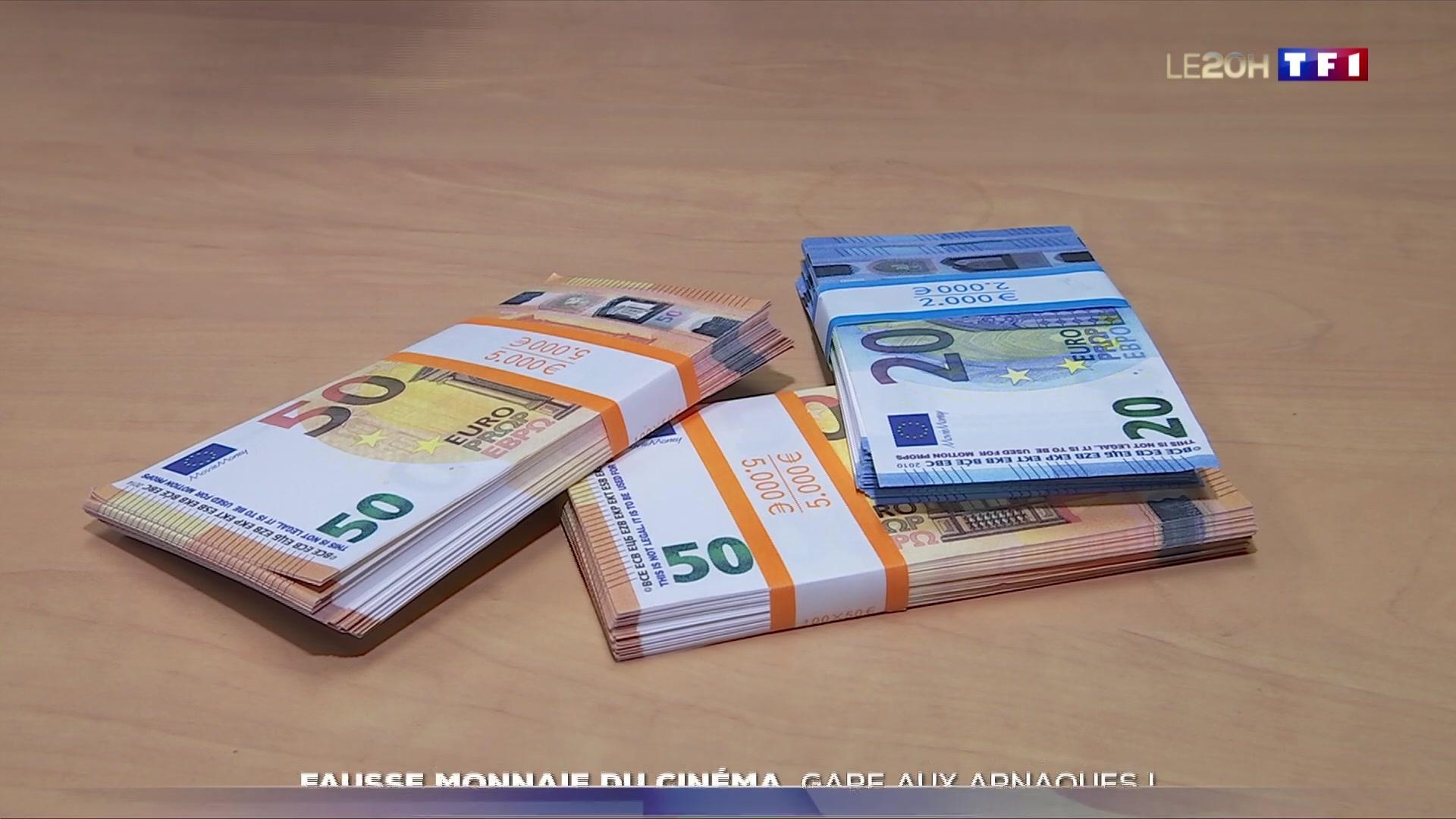 Fausse Monnaie Du Cinéma : Gare Aux Arnaques ! concernant Monnaie Fictive