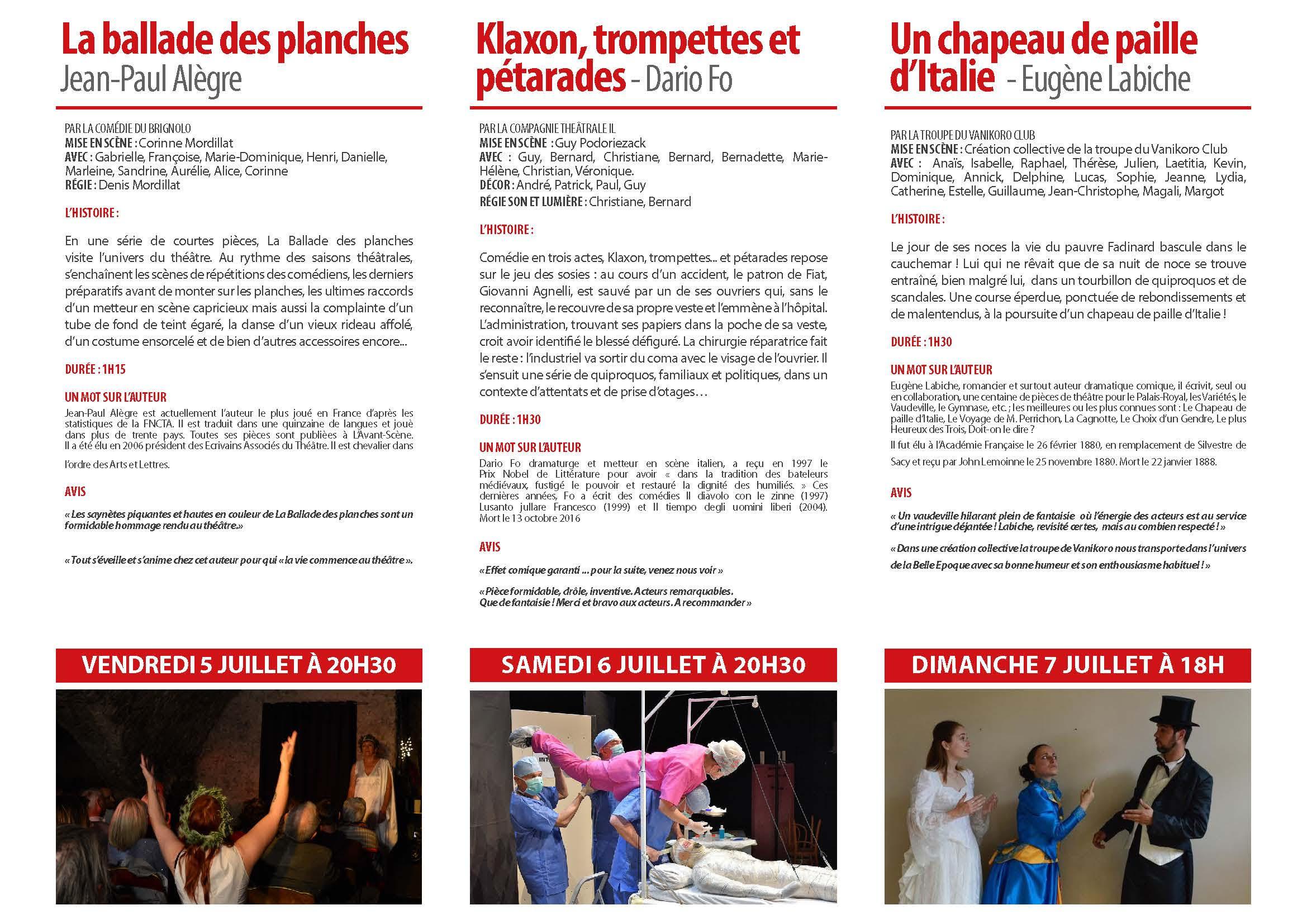 Festival De Théâtre Amateur : Puget En Scène - Vanikoro pour Cauchemar Poursuite