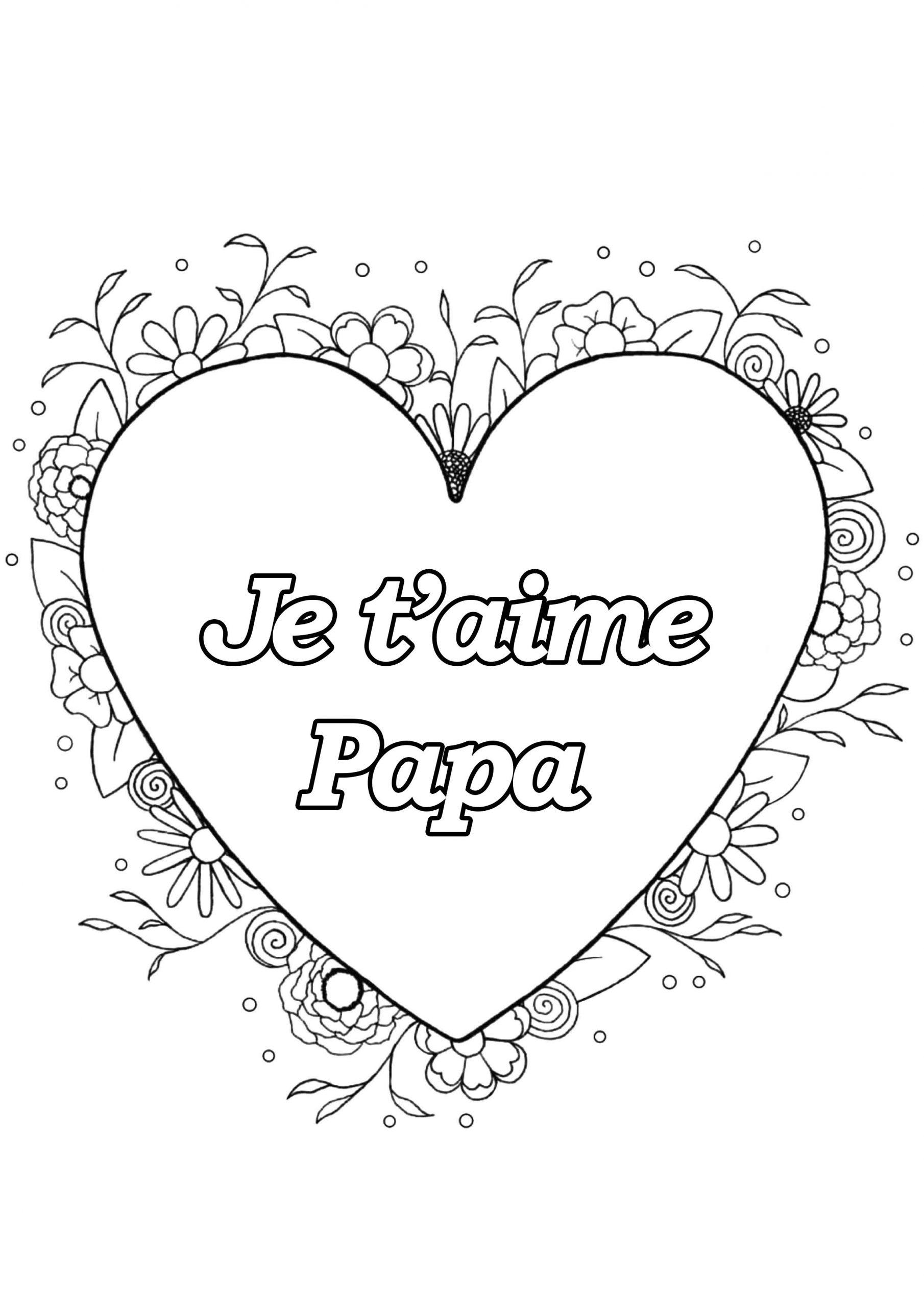Fete Des Peres 8 - Fête Des Pères - Coloriages Difficiles concernant Coloriage Fete Des Peres A Imprimer Gratuit