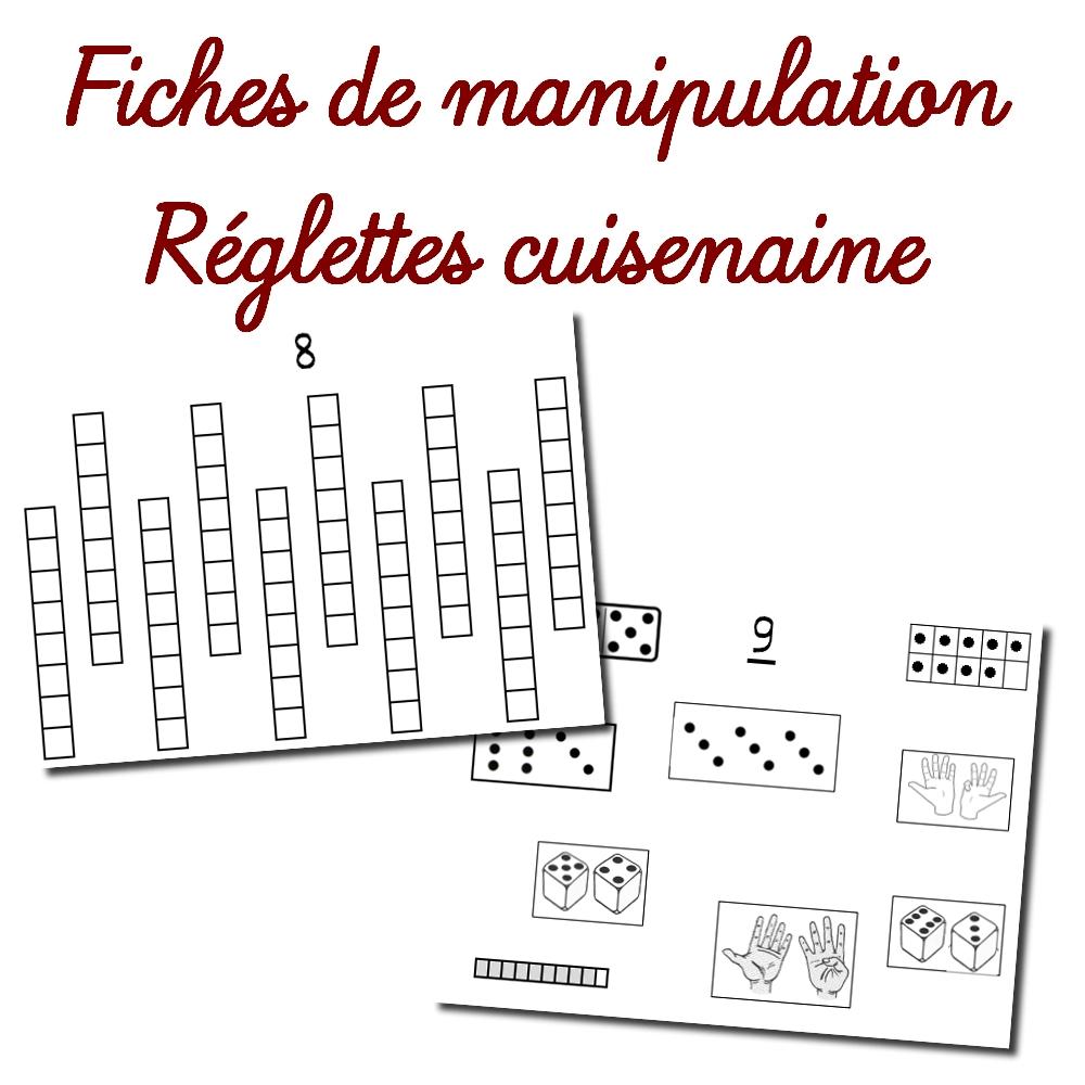 Fiches De Manipulation – Réglettes Cuisenaire intérieur Fiche A Imprimer Ce1