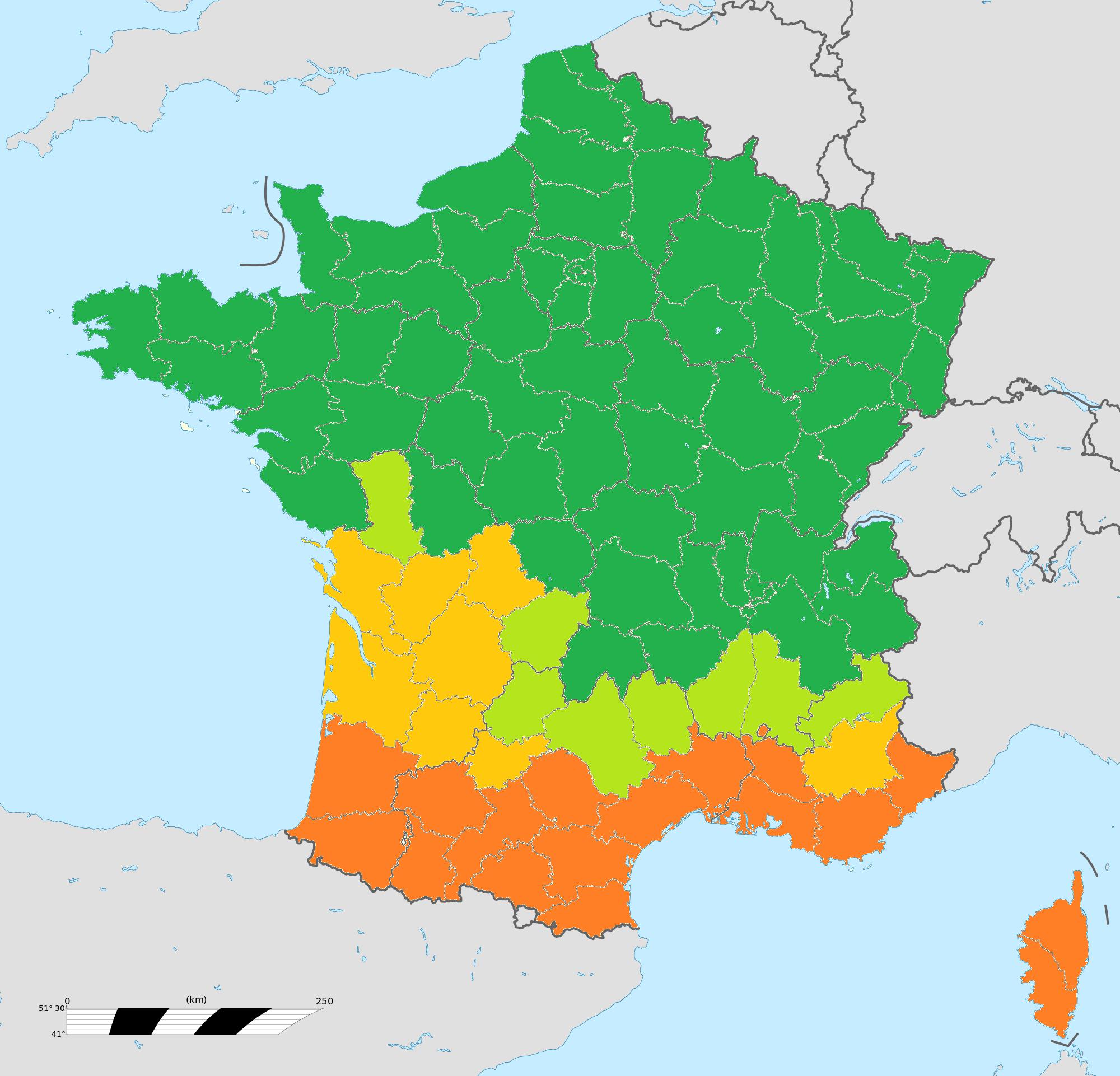 Fichier:carte Galette Et Gâteau Des Rois En France à Carte Géographique De France