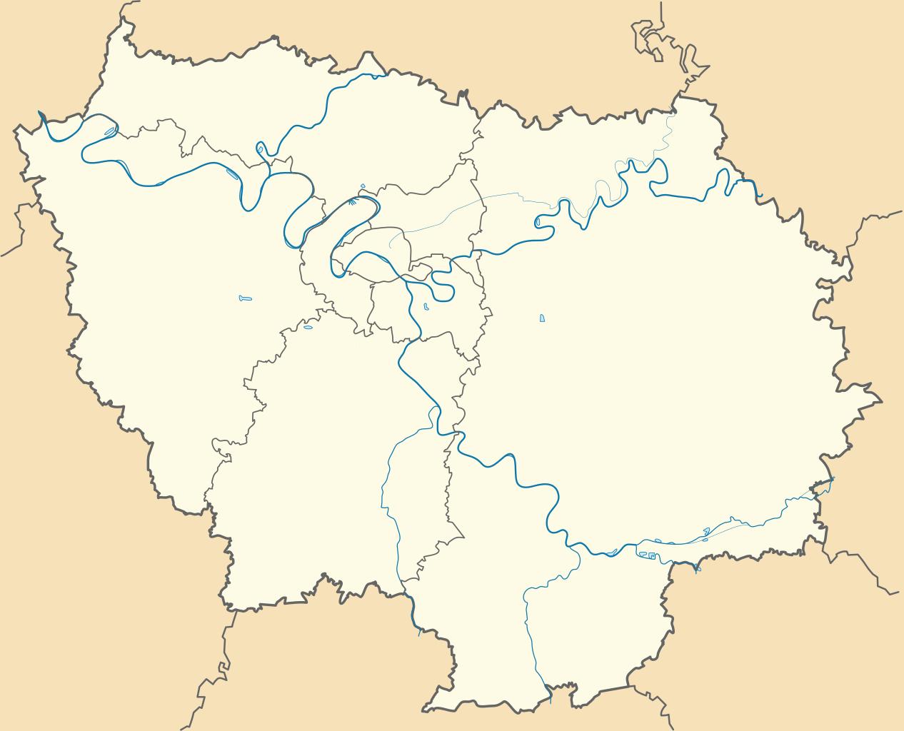 File:carte De L'île De France (Administrative).svg avec Carte Ile De France Vierge