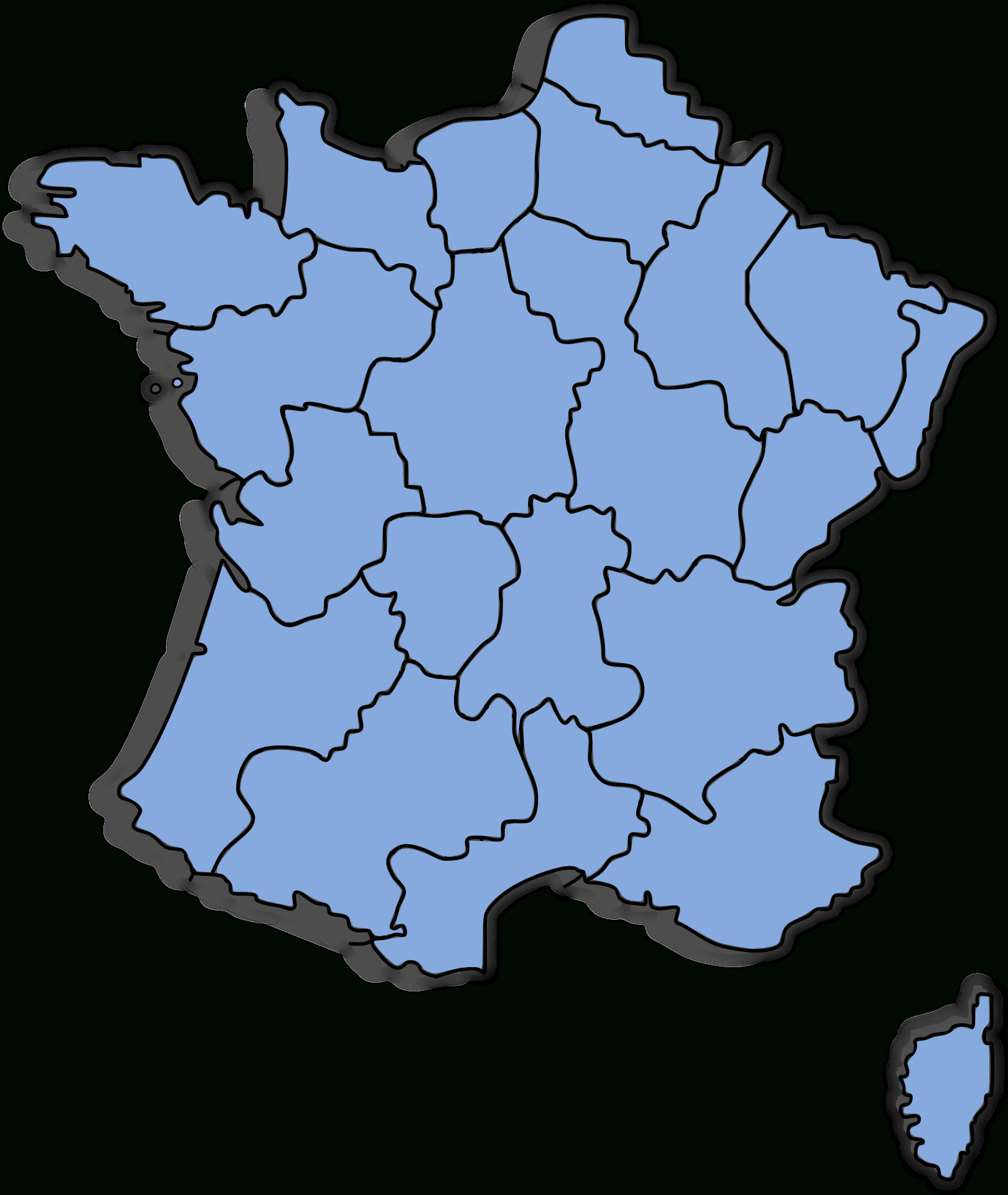 File:carte Départements France - Wikimedia Commons à Département De La France Carte