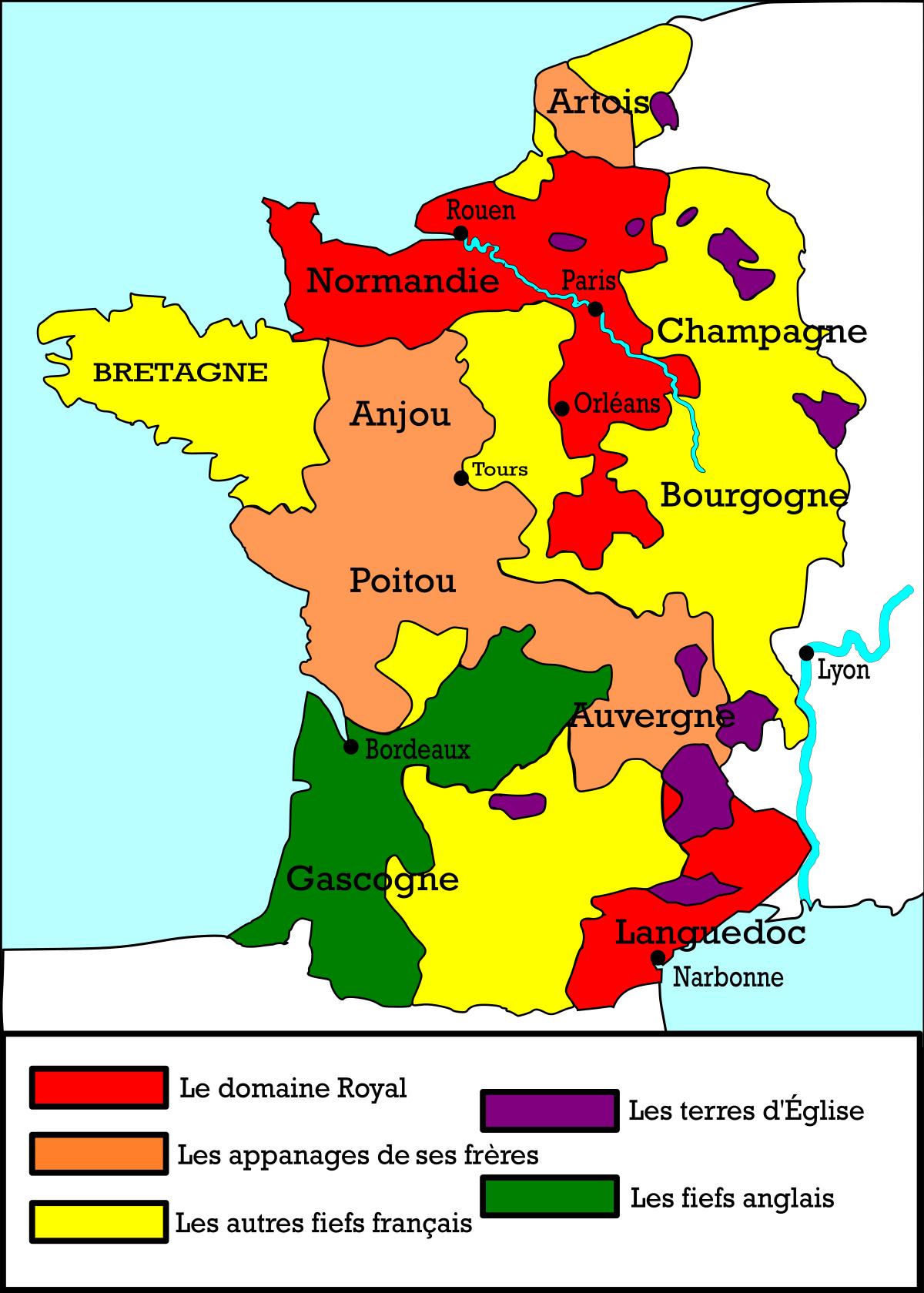 File:carte France 1270.svg - Wikimedia Commons avec Image De La Carte De France