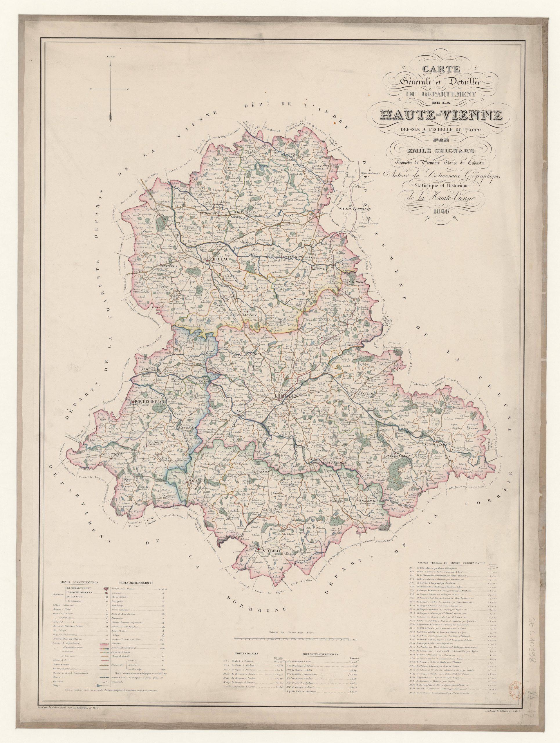 File:carte Générale Et Détaillée Du Département De La Haute à Département 09 Carte