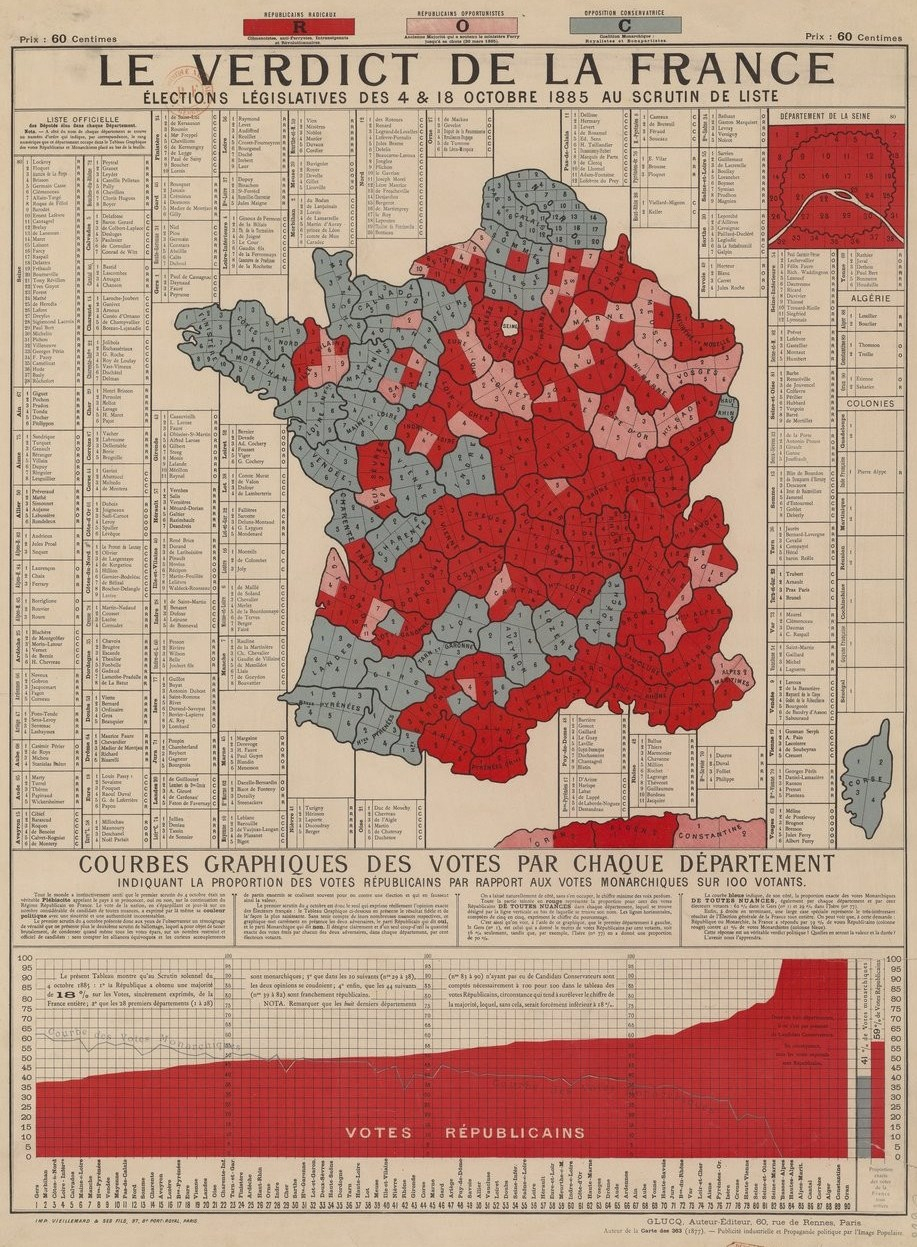 File:carte Législatives France 1885 - Wikimedia Commons destiné Département 09 Carte