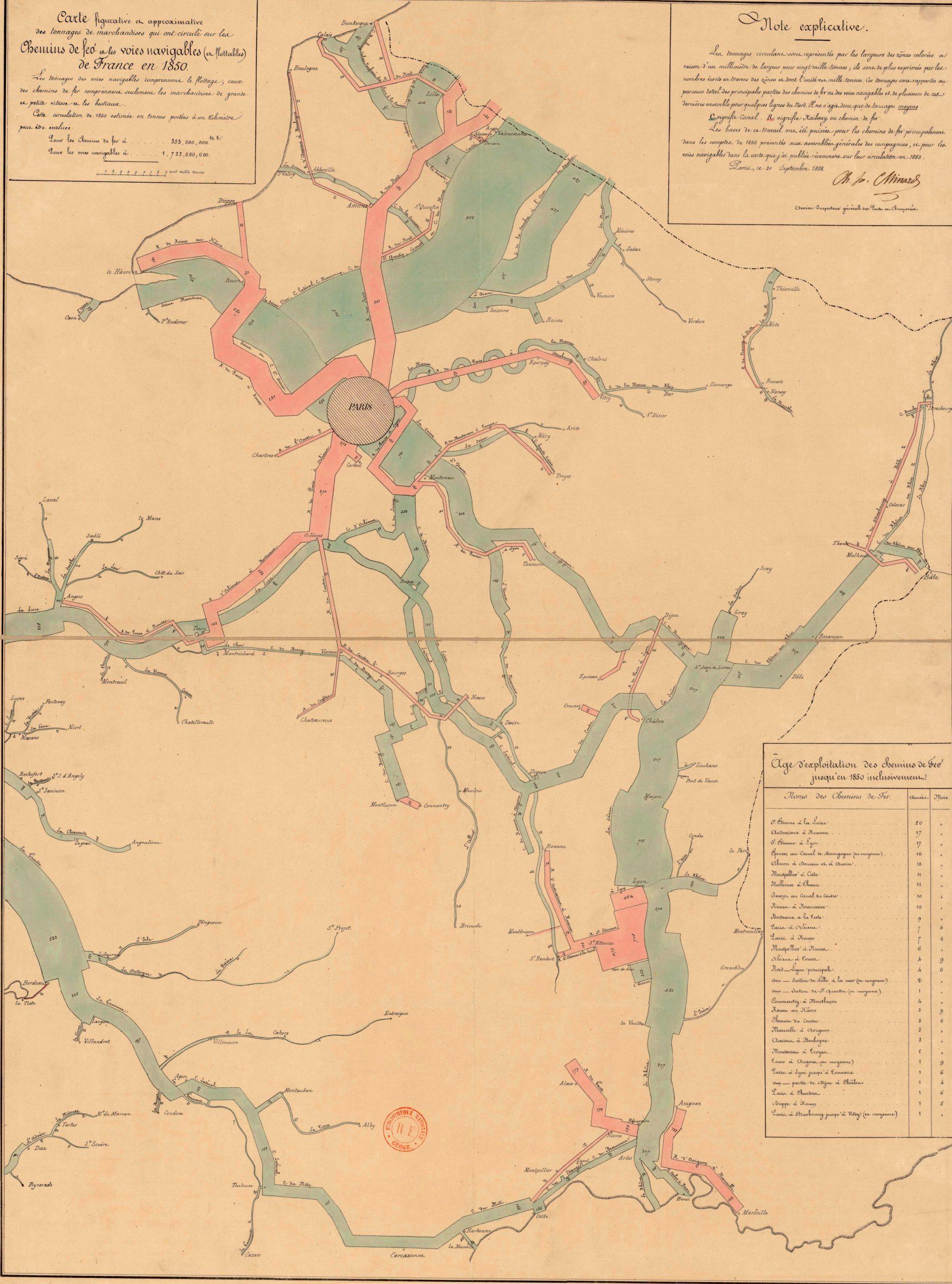 File:carte Schématique Du Tonnage Moyen De Marchandises serapportantà Carte Des Fleuves