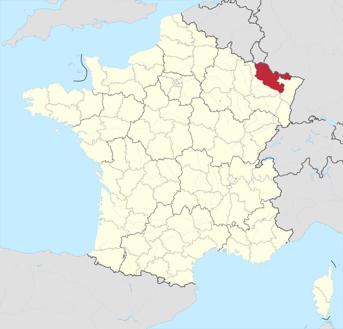 File:département 57 In France 2016.svg - Wikimedia Commons dedans Département 57 Carte