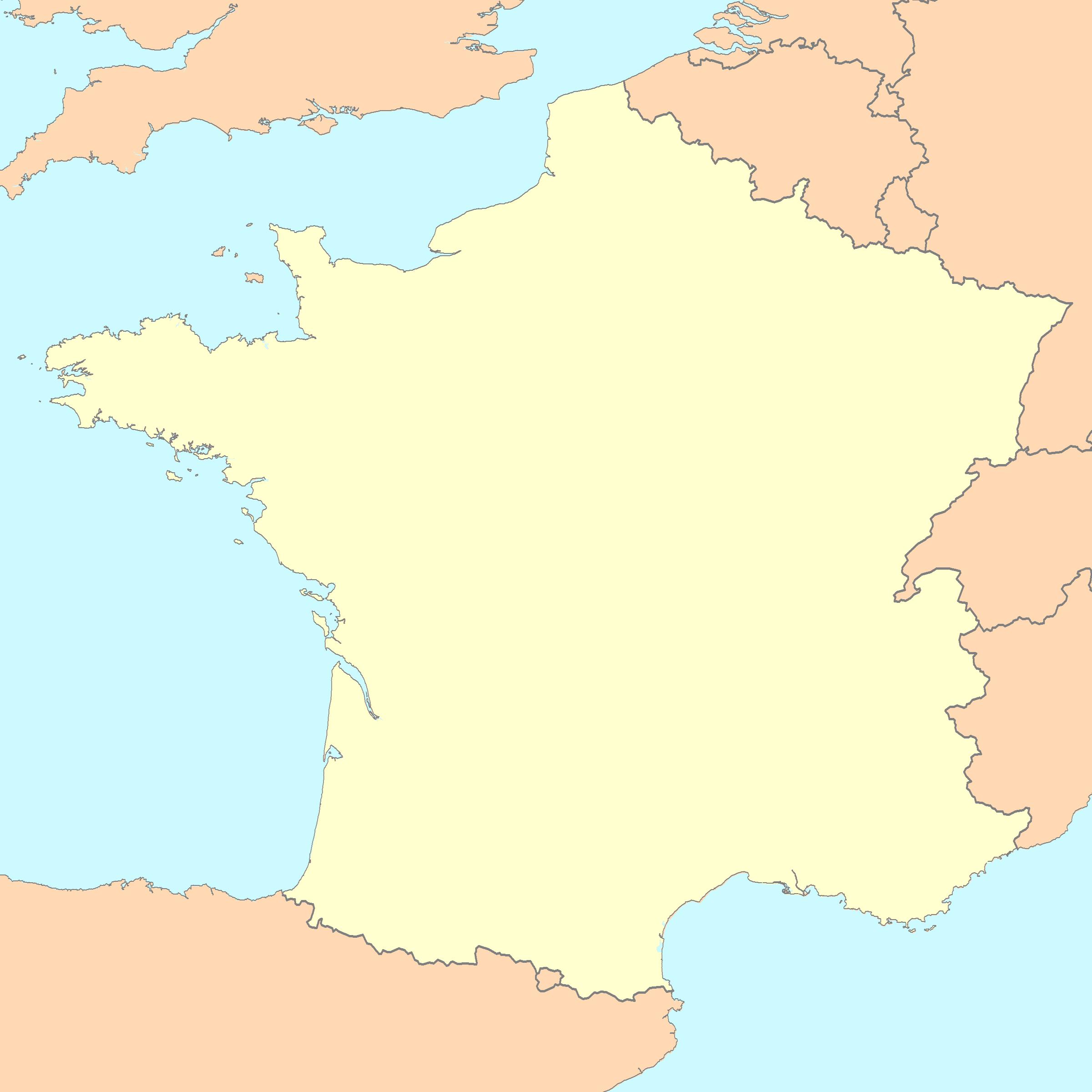 File:france Map Blank - Wikimedia Commons intérieur Carte De France Dom Tom