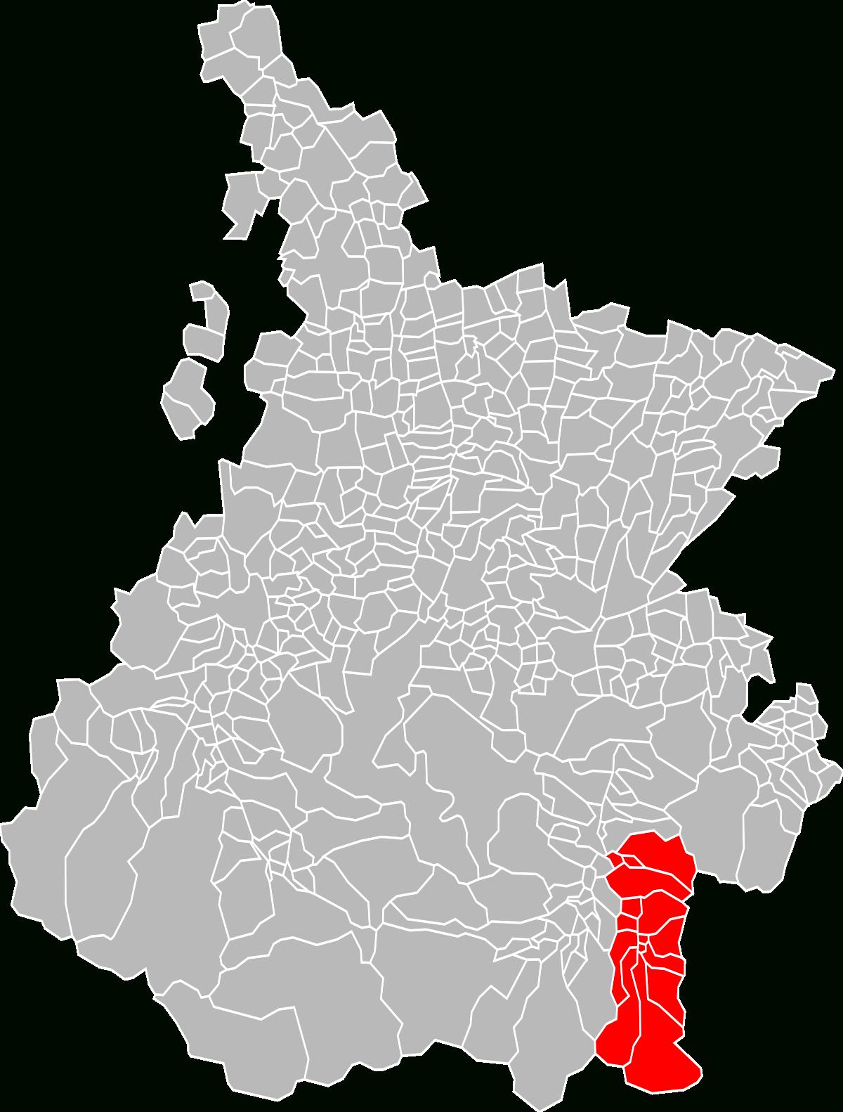 File:localisation Epci De La Vallée Du Louron Dans Les pour Puzzle Departement