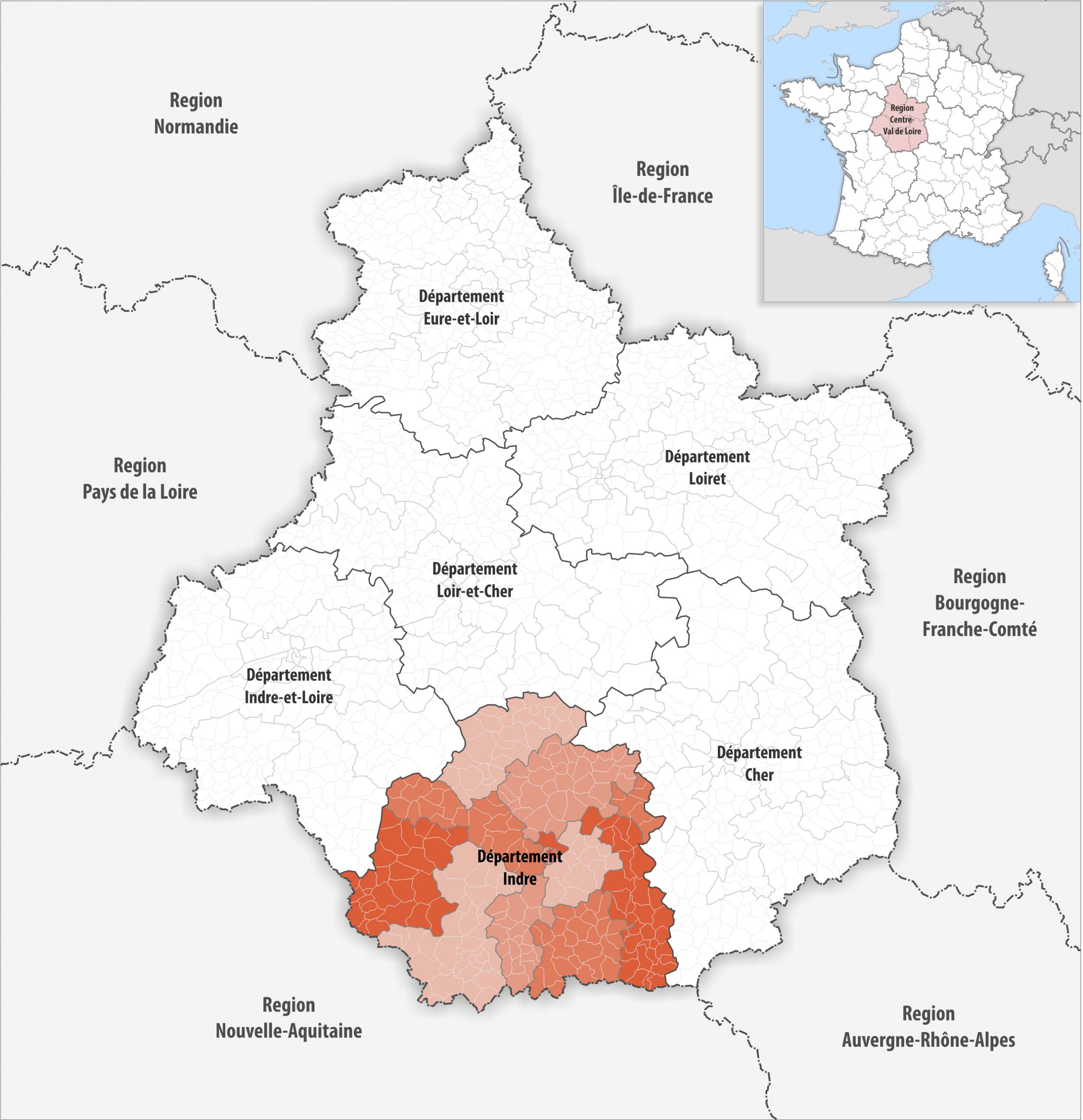 File:locator Map Of Departement Indre 2018 - Wikimedia encequiconcerne Departement 22 Region