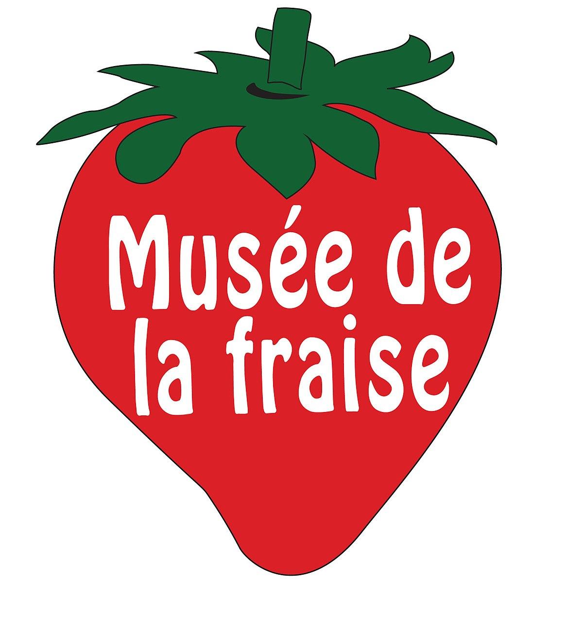 File:logo Musée De La Fraise - Wikimedia Commons avec Pixel Art Fraise