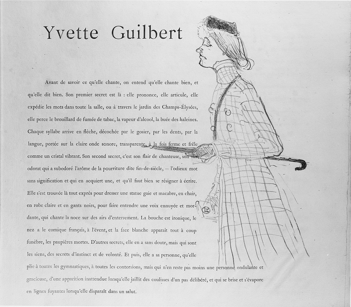 File:yvette Guilbert Met Mm48709 - Wikimedia Commons avec Mot Fleché En Ligne